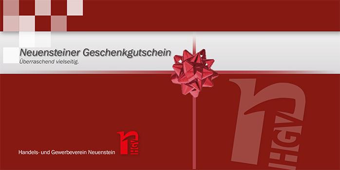 Neuensteiner Geschenkgutschein